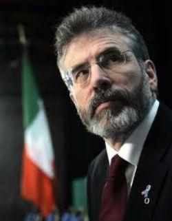 Gerry Adams: under pressure
