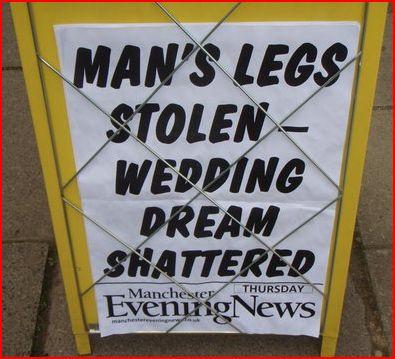 Legs stolen
